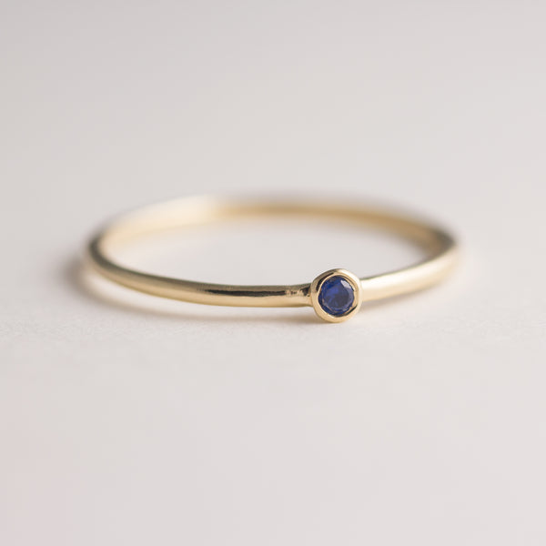 Dot Sapphire Ring - Size 5.5