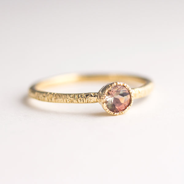 One of a Kind Oregon Sunstone Ring