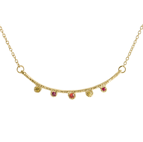 Arco Multi-gemstone Necklace