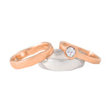 Custom Wedding Ring Set