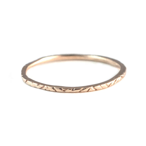Dainty Woven Ring