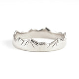 Yama Ring in Sterling Silver