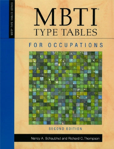 MBTI® Type Tables for Occupations, 2nd Edition