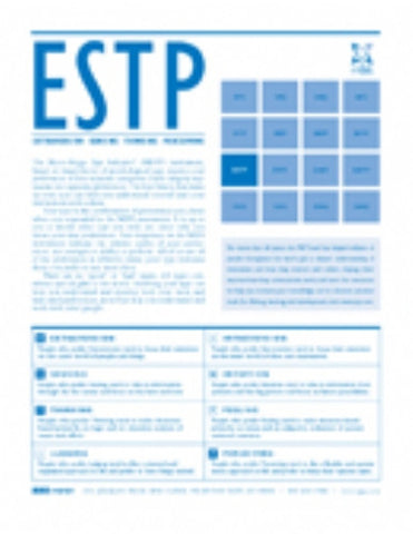 MBTI® Type Booklets