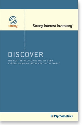 Discover the Strong Interest Inventory