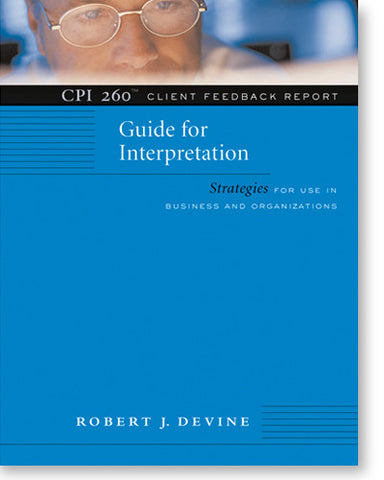 CPI 260® Client Feedback Report - Guide