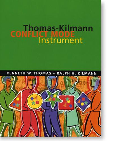 Thomas-Kilmann Conflict Mode Self-Scorable