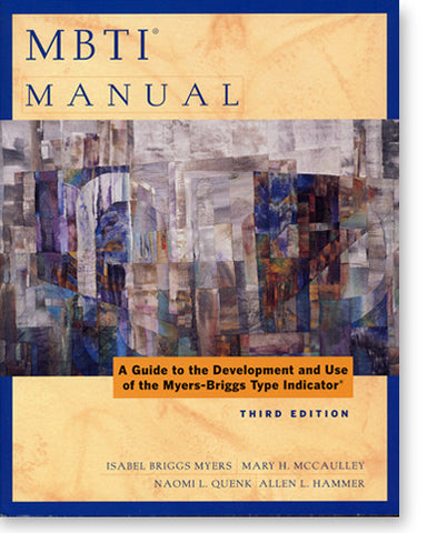 MBTI® Manual, Third Edition