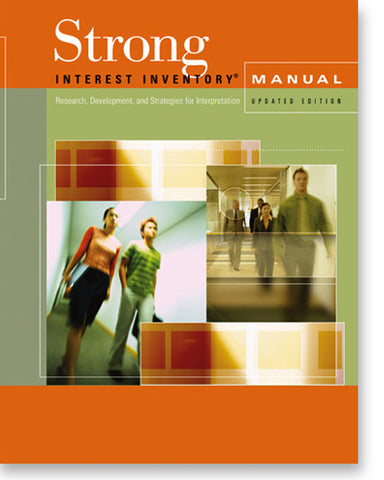 Strong Interest Inventory® Manual with Supplement