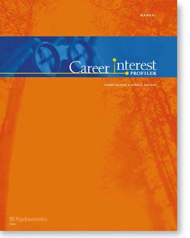 Career Interest Profiler Manual