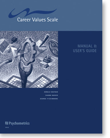Career Values Scale Manual