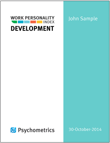 Work Personality Index<sup>®</sup> Development Report Prepaid A/S