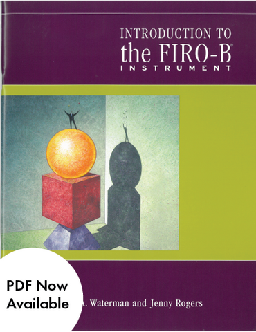 Introduction to the FIRO-B®
