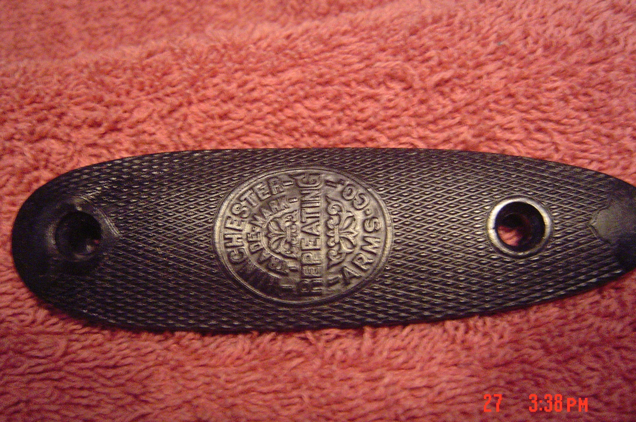 Winchester 1902 Repro Buttplate