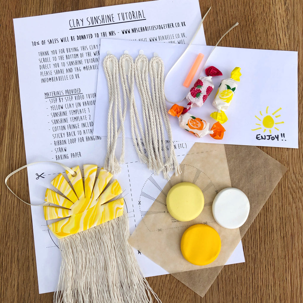 2 x Clay Sunshine making kit