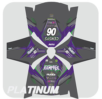 Custom Jersey Design- Platinum