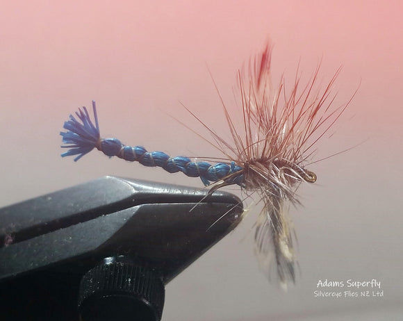 Adams Superfly Trout Fly -Fly Fishing Trout Flies Silvereye Flies