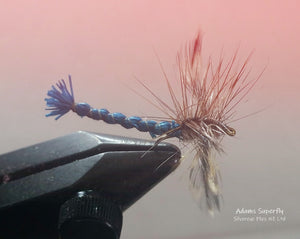Adams Superfly Custom-tied Dozen -Fly Fishing Trout Flies Silvereye Flies