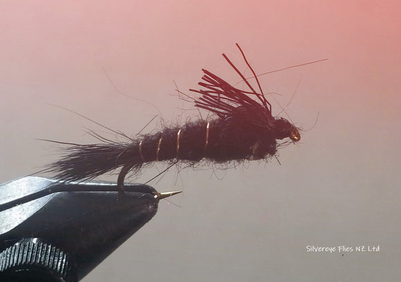 All Purpose Nymph Custom-tied Dozen -Fly Fishing Trout Flies Silvereye Flies