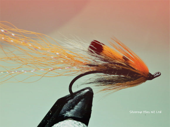 Ally's Shrimp (3) -Fly Fishing Trout Flies Silvereye Flies