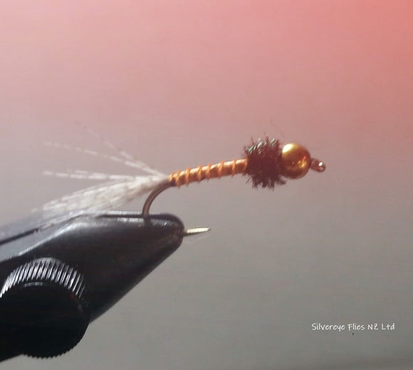 Biot Orange GB (3) -Fly Fishing Trout Flies Silvereye Flies