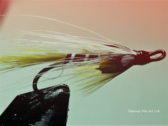 Black Ghost Custom-tied Dozen -Fly Fishing Trout Flies Silvereye Flies