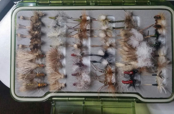 Silvereye Dry Fly/Nymph Selection #2 -Fly Fishing Trout Flies Silvereye Flies
