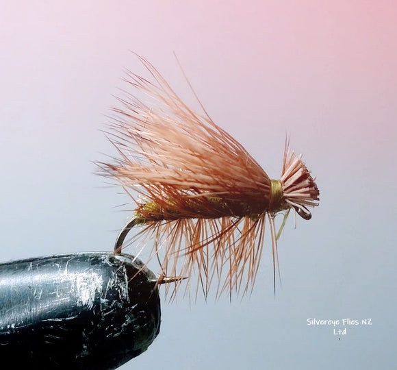 Elk Hair Caddis (3) -Fly Fishing Trout Flies Silvereye Flies