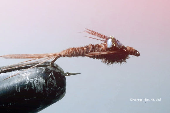 Flashback Pheasant Tail Custom-tied Dozen -Fly Fishing Trout Flies Silvereye Flies