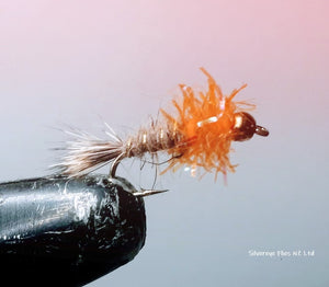 GB Hares Ear Fritz (3) -Fly Fishing Trout Flies Silvereye Flies