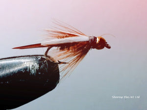 Prince Bead Head Custom-tied Dozen -Fly Fishing Trout Flies Silvereye Flies