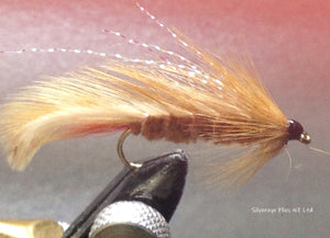 Ginger Mick Custom-tied Dozen -Fly Fishing Trout Flies Silvereye Flies