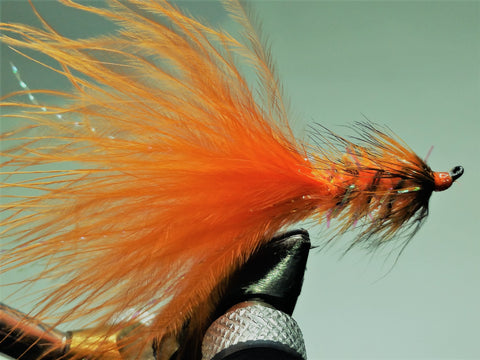 Steely Bugger Orange Custom-tied Dozen