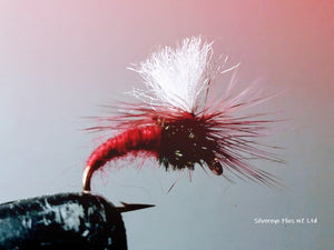 Klinkhammer Custom-tied Dozen -Fly Fishing Trout Flies Silvereye Flies