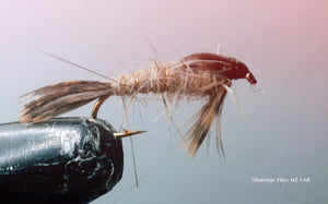 March Brown Nymph Custom-tied Dozen -Fly Fishing Trout Flies Silvereye Flies