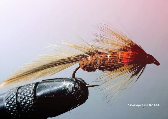 Matuka's Olive Custom-tied Dozen -Fly Fishing Trout Flies Silvereye Flies