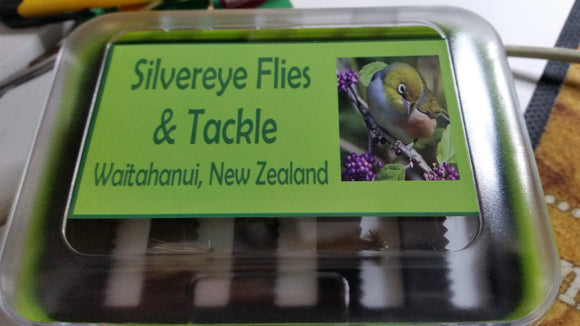 Tongariro River Selection - Silvereye Flies & Tackle