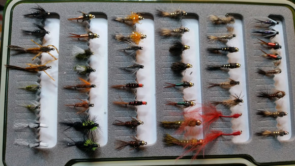 Wee Nymph Collection -Fly Fishing Trout Flies Silvereye Flies
