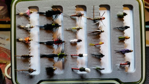 Nymph Selection #2 -Fly Fishing Trout Flies Silvereye Flies