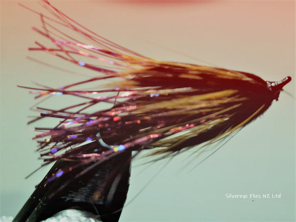 Sparkle Spey Rainbow Trout (3) -Fly Fishing Trout Flies Silvereye Flies