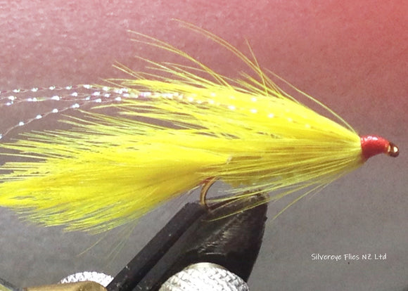 Yellow Lady (3) -Fly Fishing Trout Flies Silvereye Flies
