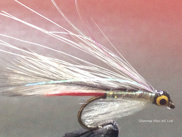 Mini Grey Ghost (3) -Fly Fishing Trout Flies Silvereye Flies