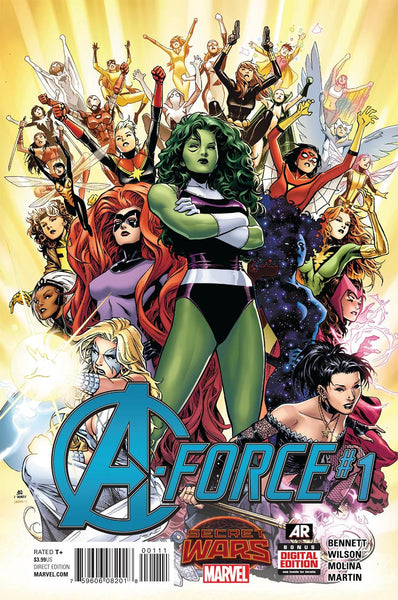 A-Force (2015) #1