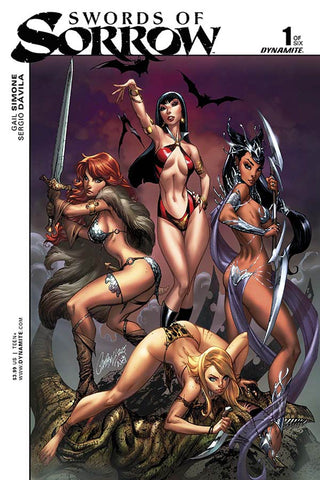 "Swords Of Sorrow (2015) #1 ""Cover A"" Variant"