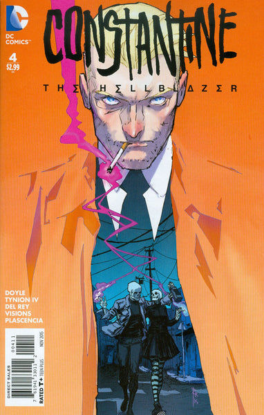 Constantine: The Hellblazer (2015) #4