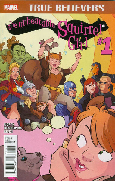 True Believers: Unbeatable Squirrel Girl (2015) #1