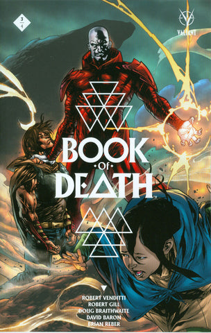 "Book of Death (2015) #3 Segovia ""Cover C"" Variant"