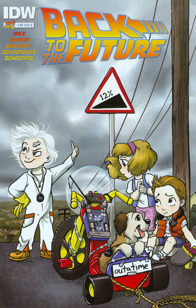 "Back to the Future (2015) #1 Schoening ""Cover C"" Variant"