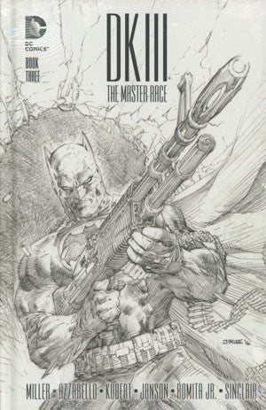 "Dark Knight III: The Master Race (2016) #3 ""Collector's Edition"" HC Variant"