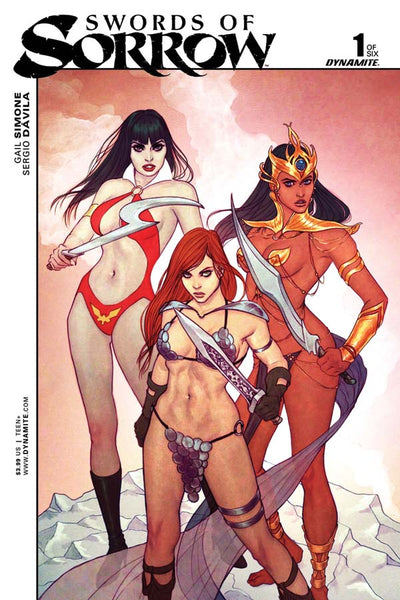"Swords Of Sorrow (2015) #1 ""Cover B"" Variant"